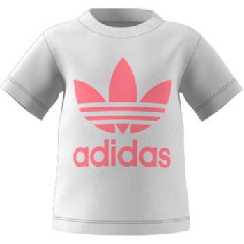 Ruhák Gyerek Rövid ujjú pólók adidas Originals GN8175 Fehér