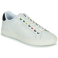 Cipők Férfi Rövid szárú edzőcipők Paul Smith REX Fehér