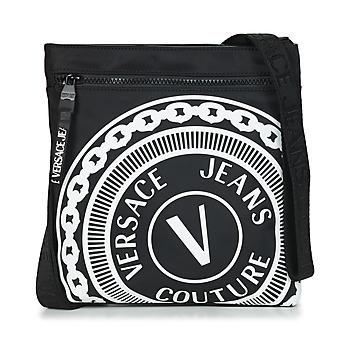 Táskák Férfi Kistáskák Versace Jeans Couture SOLEDA Fekete  / Fehér