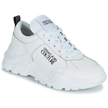 Cipők Férfi Rövid szárú edzőcipők Versace Jeans Couture MINOTA Fehér