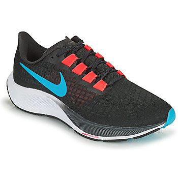 Cipők Férfi Futócipők Nike AIR ZOOM PEGASUS 37 Fekete  / Piros / Kék