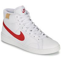 Cipők Férfi Rövid szárú edzőcipők Nike COURT ROYALE 2 MID Fehér / Piros