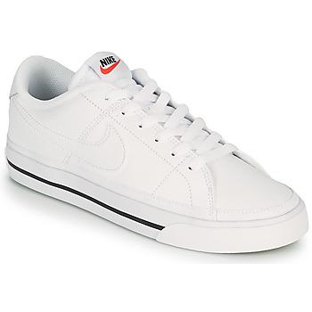 Cipők Női Rövid szárú edzőcipők Nike COURT LEGACY Fehér