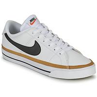 Cipők Női Rövid szárú edzőcipők Nike COURT LEGACY Fehér / Kék