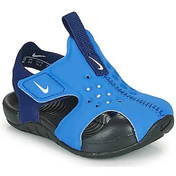 Cipők Fiú strandpapucsok Nike SUNRAY PROTECT 2 TD Kék