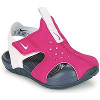 Cipők Lány strandpapucsok Nike SUNRAY PROTECT 2 TD Lila