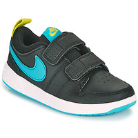 Cipők Fiú Rövid szárú edzőcipők Nike PICO 5 PS Fekete  / Kék
