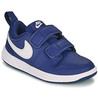 Cipők Fiú Rövid szárú edzőcipők Nike PICO 5 PS Kék / Fehér