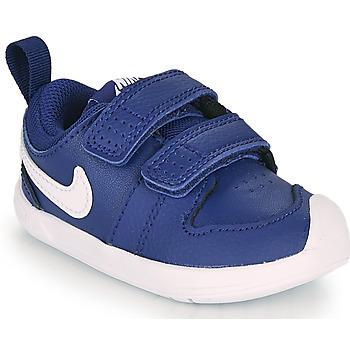 Cipők Fiú Rövid szárú edzőcipők Nike PICO 5 TD Kék / Fehér