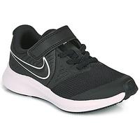 Cipők Gyerek Multisport Nike STAR RUNNER 2 PS Fekete  / Fehér
