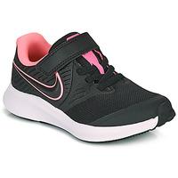 Cipők Lány Multisport Nike STAR RUNNER 2 PS Fekete  / Rózsaszín