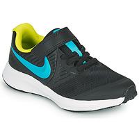Cipők Fiú Multisport Nike STAR RUNNER 2 PS Fekete  / Kék