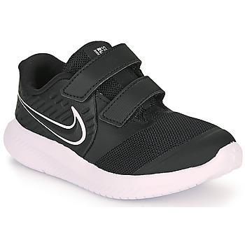 Cipők Gyerek Multisport Nike STAR RUNNER 2 TD Fekete  / Fehér