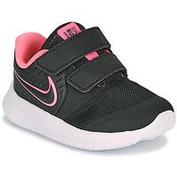 Cipők Lány Multisport Nike STAR RUNNER 2 TD Fekete  / Rózsaszín