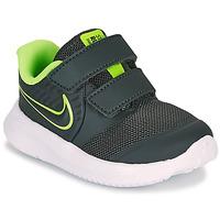 Cipők Fiú Multisport Nike STAR RUNNER 2 TD Fekete  / Zöld