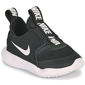 Cipők Gyerek Futócipők Nike FLEX RUNNER TD Fekete  / Fehér