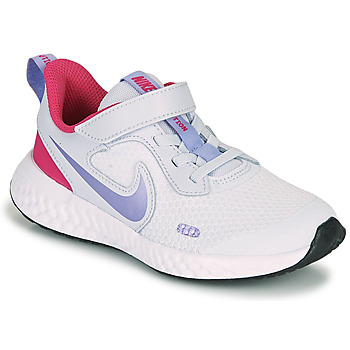 Cipők Lány Multisport Nike REVOLUTION 5 PS Kék / Lila