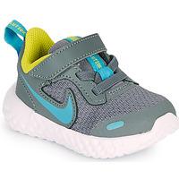 Cipők Fiú Multisport Nike REVOLUTION 5 TD Szürke / Kék