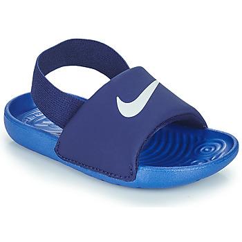 Cipők Fiú strandpapucsok Nike NIKE KAWA TD Kék