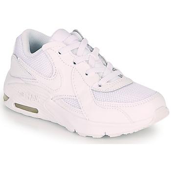 Cipők Gyerek Rövid szárú edzőcipők Nike AIR MAX EXCEE PS Fehér