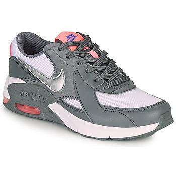 Cipők Lány Rövid szárú edzőcipők Nike AIR MAX EXCEE GS Szürke / Rózsaszín