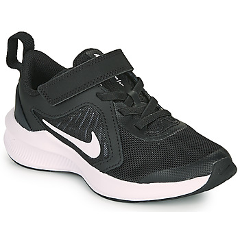 Cipők Gyerek Multisport Nike DOWNSHIFTER 10 PS Fekete  / Fehér