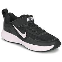 Cipők Gyerek Multisport Nike WEARALLDAY PS Fekete  / Fehér