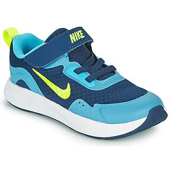Cipők Fiú Multisport Nike WEARALLDAY TD Kék / Zöld