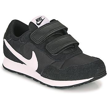 Cipők Gyerek Rövid szárú edzőcipők Nike MD VALIANT PS Fekete  / Fehér