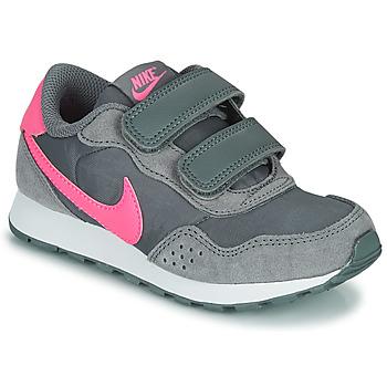 Cipők Lány Rövid szárú edzőcipők Nike MD VALIANT PS Szürke / Rózsaszín