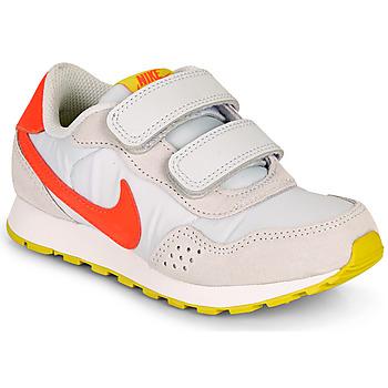 Cipők Lány Rövid szárú edzőcipők Nike MD VALIANT PS Bézs / Piros