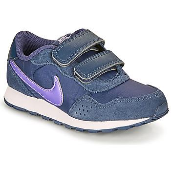 Cipők Gyerek Rövid szárú edzőcipők Nike MD VALIANT PS Kék