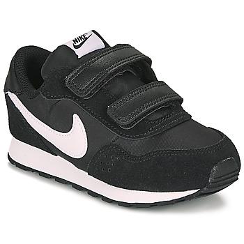 Cipők Gyerek Rövid szárú edzőcipők Nike MD VALIANT TD Fekete  / Fehér