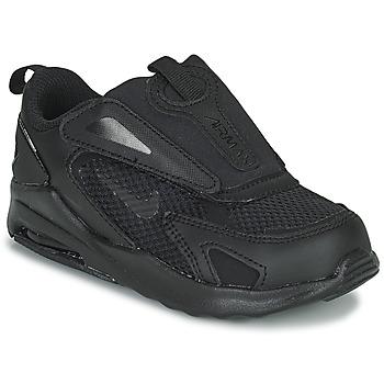 Cipők Gyerek Rövid szárú edzőcipők Nike AIR MAX BOLT TD Fekete