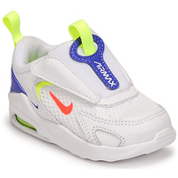 Cipők Gyerek Rövid szárú edzőcipők Nike AIR MAX BOLT TD Fehér / Kék