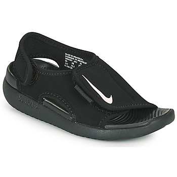 Cipők Gyerek strandpapucsok Nike SUNRAY ADJUST 5 V2 PS Fekete