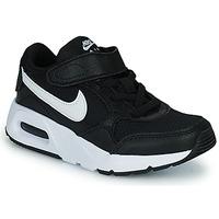 Cipők Gyerek Rövid szárú edzőcipők Nike NIKE AIR MAX SC (PSV) Fekete  / Fehér