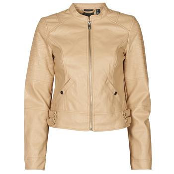 Ruhák Női Bőrkabátok / műbőr kabátok Vero Moda VMLOVE Bézs