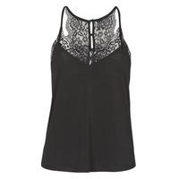 Ruhák Női Trikók / Ujjatlan pólók Vero Moda VMANA Fekete