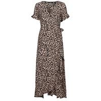 Ruhák Női Hosszú ruhák Vero Moda VMSAGA Bézs
