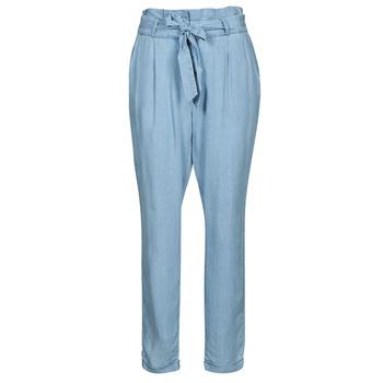 Ruhák Női Chino nadrágok / Carrot nadrágok Vero Moda VMVIVIANAEVA Kék / Tiszta