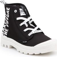 Cipők Magas szárú edzőcipők Palladium Manufacture Pampa HI Future 76885-002-M biały, czarny