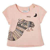 Ruhák Lány Rövid ujjú pólók Ikks XS10100-32 Rózsaszín