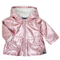 Ruhák Lány Parka kabátok Ikks XS42010-31 Rózsaszín