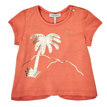 Ruhák Lány Rövid ujjú pólók Ikks XS10080-67 Narancssárga