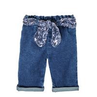 Ruhák Lány Egyenes szárú farmerek Ikks XS29000-86 Kék