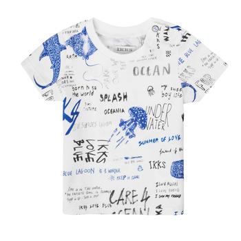 Ruhák Fiú Rövid ujjú pólók Ikks XS10021-19 Sokszínű