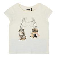 Ruhák Lány Rövid ujjú pólók Ikks XS10002-11-C Fehér
