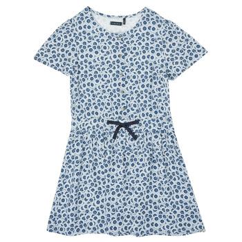 Ruhák Lány Rövid ruhák Ikks XS30102-48-C Kék