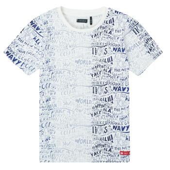 Ruhák Fiú Rövid ujjú pólók Ikks XS10063-19-C Sokszínű